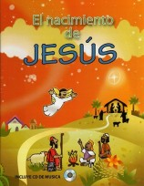 Spanish0055 - The Birth of Jesus coloring book