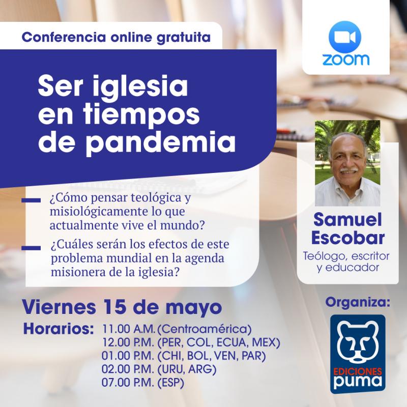 Samuel Escobar conferencia online