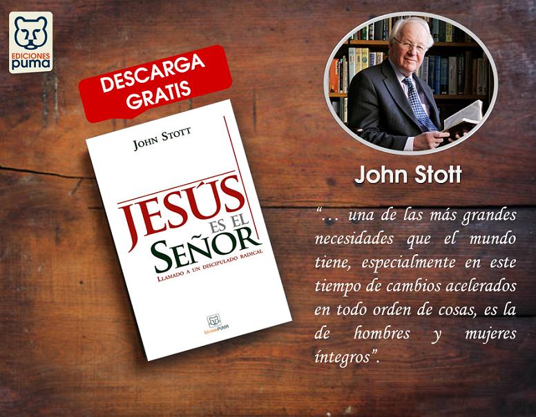John Stott-Jesús es el Señor-libro de regalo